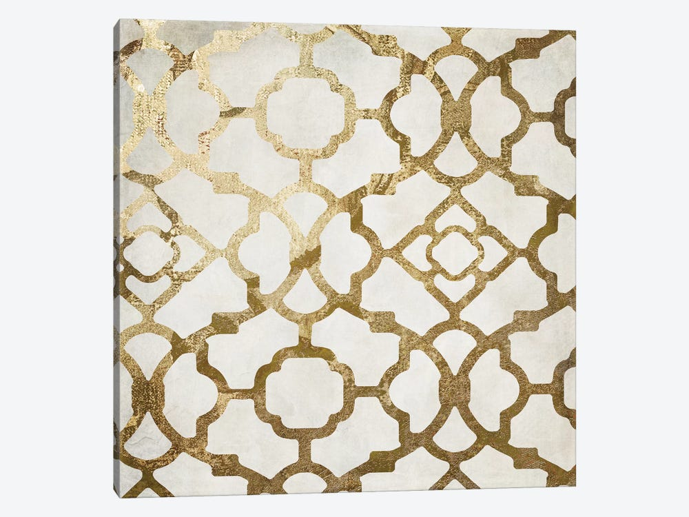Moroccan Gold II by Color Bakery 1-piece Canvas Print