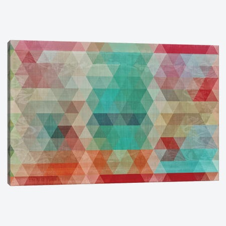 Mosaico I Canvas Print #CBY648} by Color Bakery Canvas Wall Art