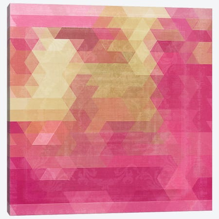 Mosaico II Canvas Print #CBY649} by Color Bakery Canvas Artwork