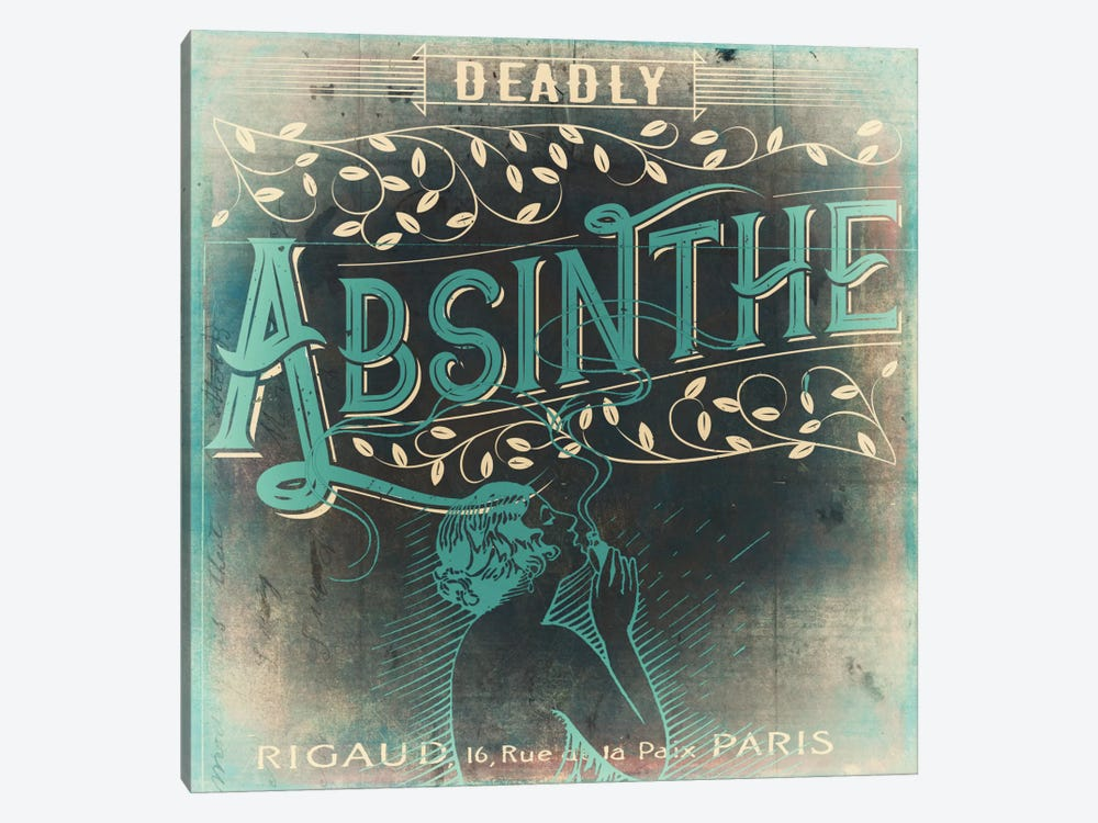 Absinthe by Color Bakery 1-piece Canvas Artwork