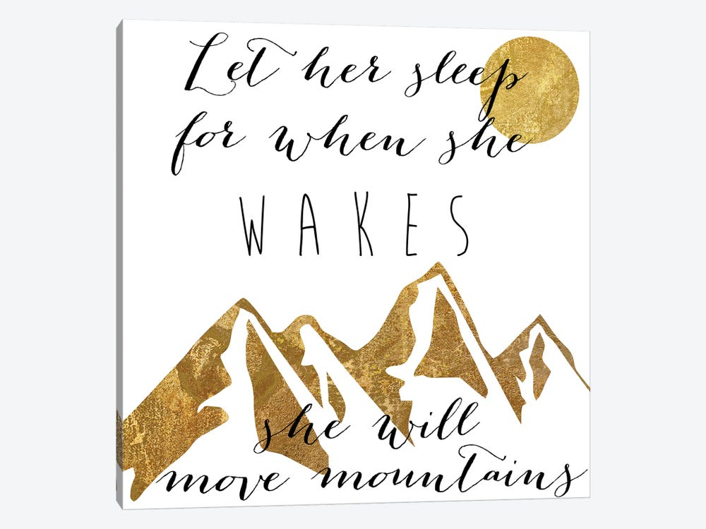 Mountains by Color Bakery 1-piece Art Print