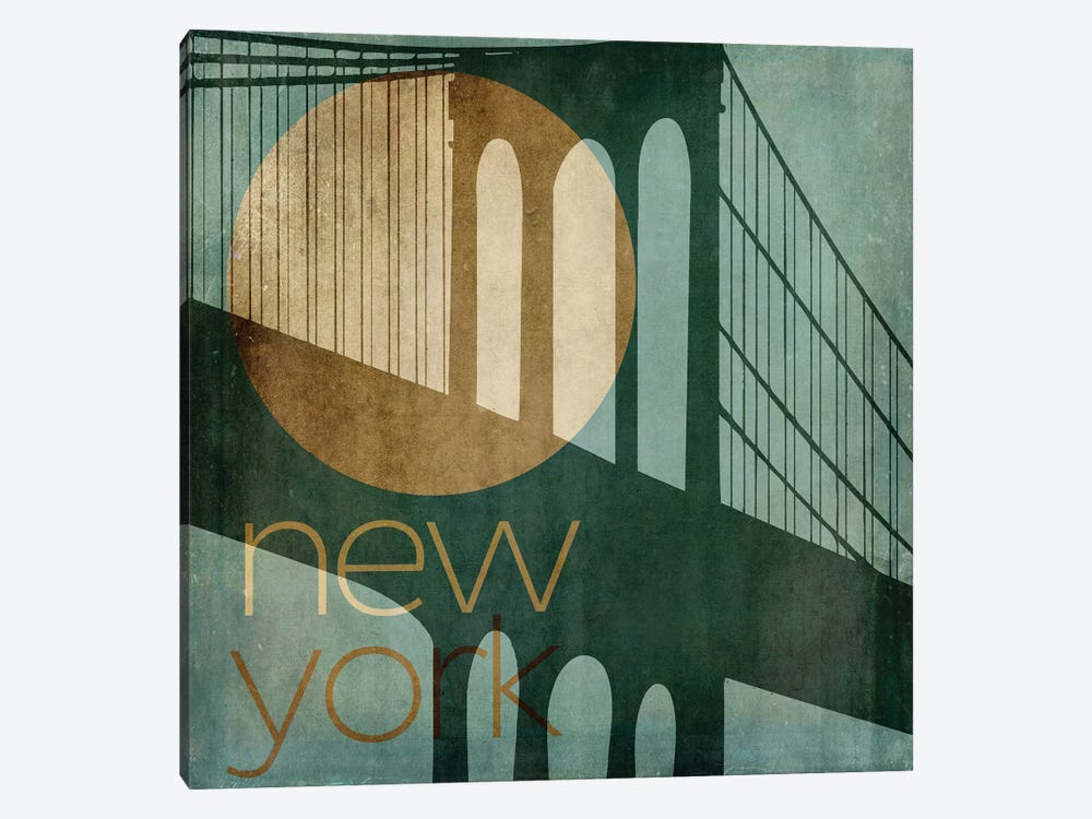 New York by Color Bakery 1-piece Canvas Artwork