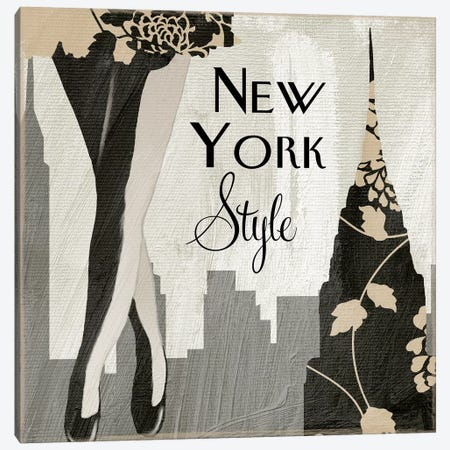 New York Style I Canvas Print #CBY663} by Color Bakery Canvas Art