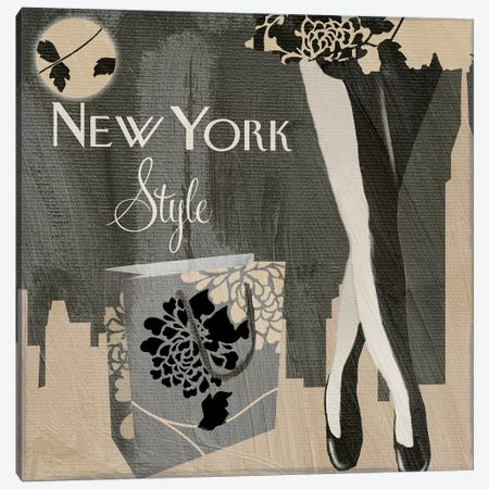 New York Style II Canvas Print #CBY664} by Color Bakery Art Print