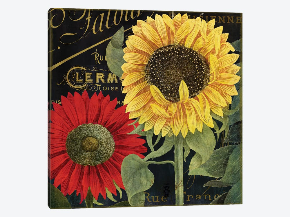October Sun II by Color Bakery 1-piece Canvas Art Print