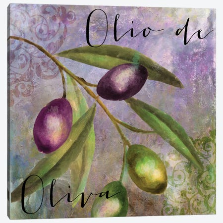 Olivia I Canvas Print #CBY682} by Color Bakery Canvas Artwork