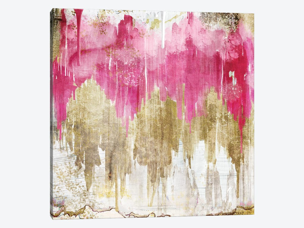 Opulence Rose by Color Bakery 1-piece Canvas Artwork