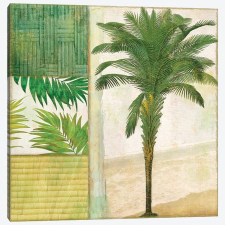 Paradise I Canvas Print #CBY705} by Color Bakery Canvas Wall Art