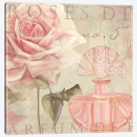 Parfum de Roses I Canvas Print #CBY707} by Color Bakery Canvas Artwork