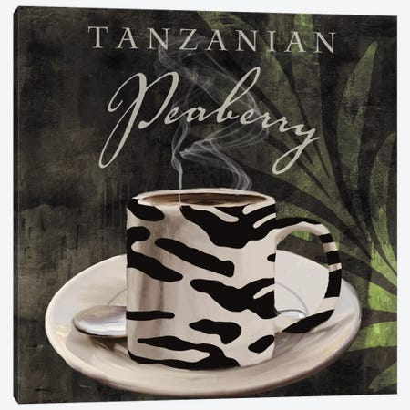 Afrikan Coffee II Canvas Print #CBY70} by Color Bakery Canvas Artwork