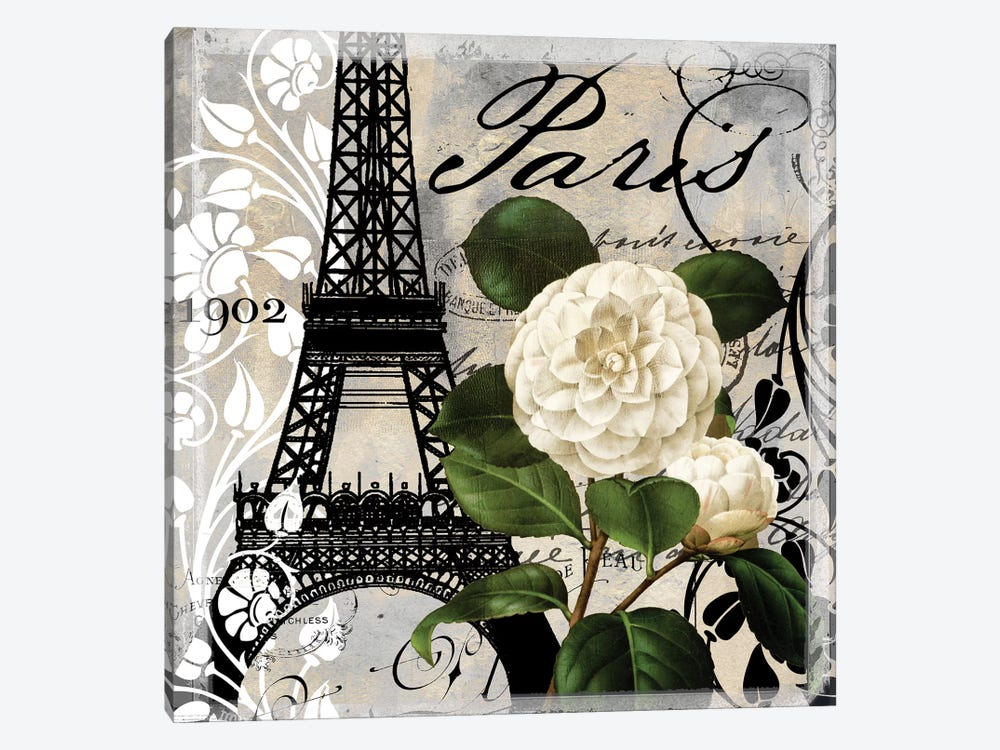 Paris Blanc I by Color Bakery 1-piece Canvas Wall Art