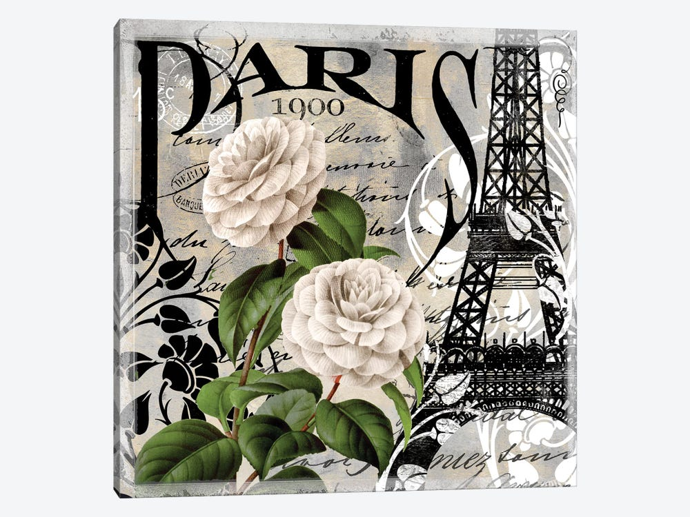 Paris Blanc II 1-piece Art Print