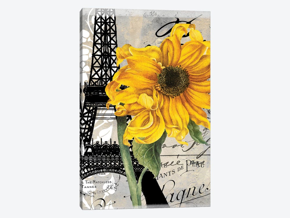 Paris Blanc III by Color Bakery 1-piece Canvas Print