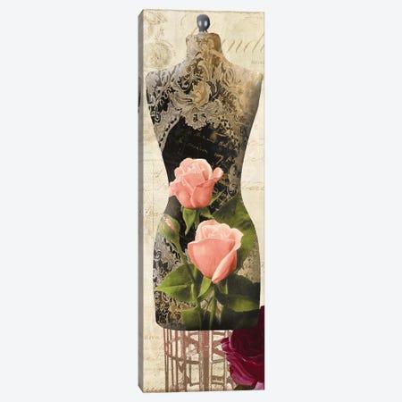 Paris Seamstress I Canvas Print #CBY722} by Color Bakery Canvas Art Print