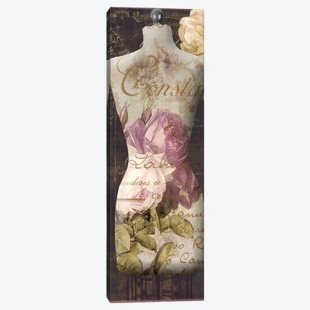 Paris Seamstress III Canvas Print #CBY724} by Color Bakery Canvas Wall Art