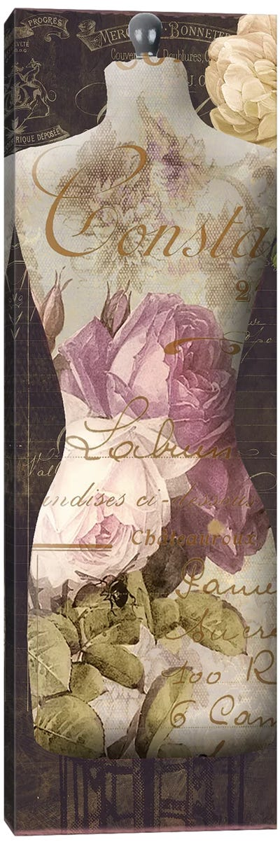Paris Seamstress III Canvas Art Print