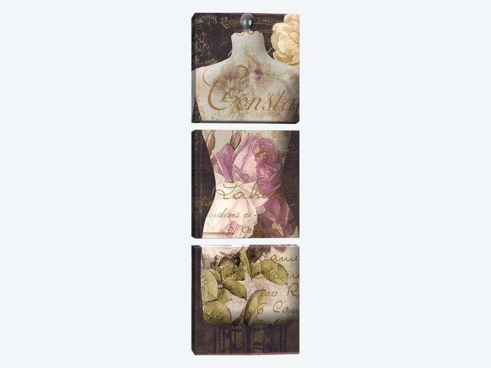 Paris Seamstress III by Color Bakery 3-piece Canvas Art Print