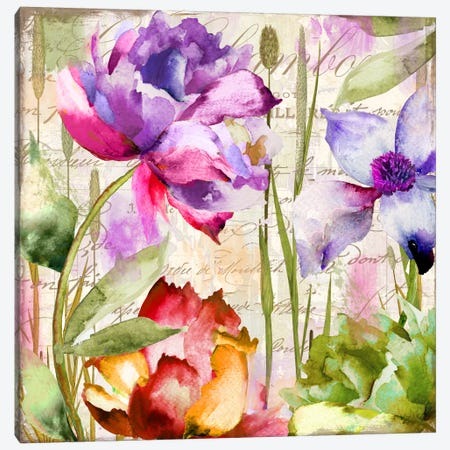 Afterglow I Canvas Print #CBY72} by Color Bakery Canvas Artwork