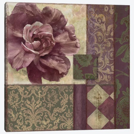 Patch Work Brocade I Canvas Print #CBY733} by Color Bakery Canvas Wall Art