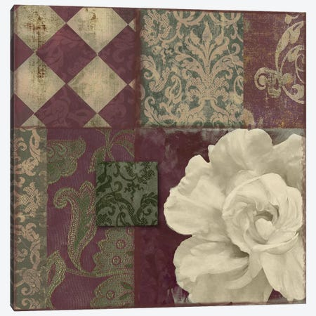 Patch Work Brocade II Canvas Print #CBY734} by Color Bakery Art Print