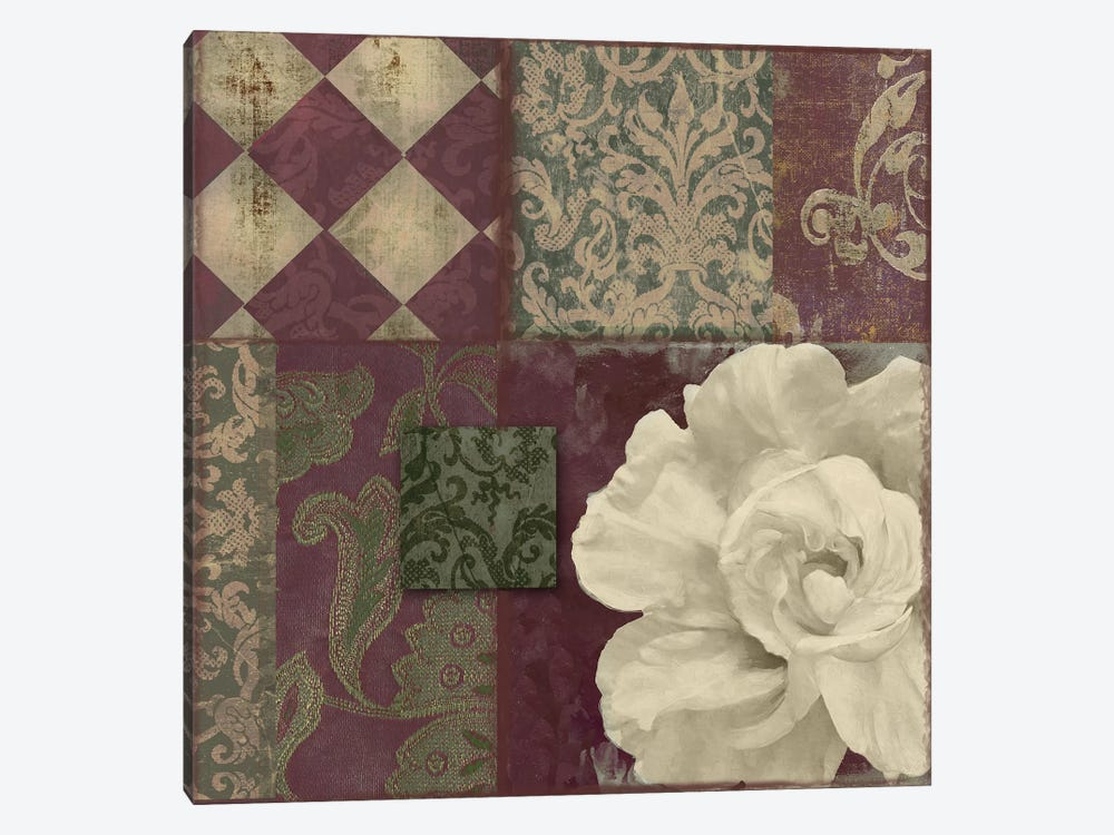 Patch Work Brocade II by Color Bakery 1-piece Canvas Wall Art