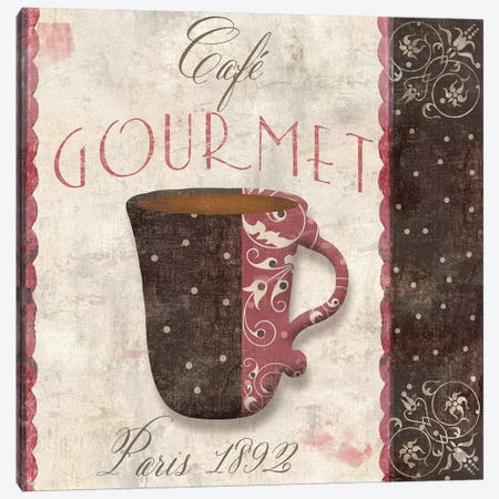 Patisserie XII Canvas Print #CBY744} by Color Bakery Canvas Artwork