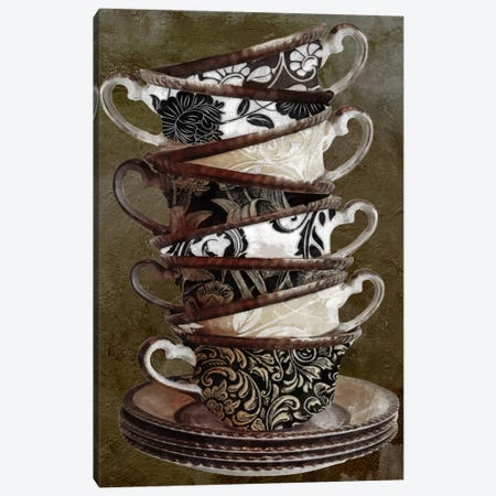 Afternoon Tea I Canvas Print #CBY76} by Color Bakery Art Print