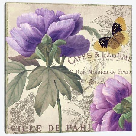 Petals Of Paris IV Canvas Print #CBY776} by Color Bakery Canvas Art Print