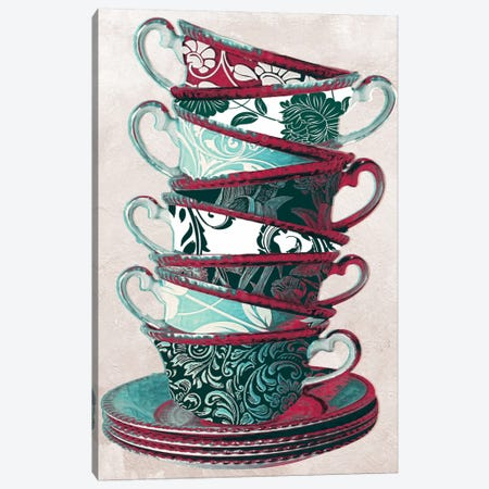 Afternoon Tea II Canvas Print #CBY77} by Color Bakery Canvas Print