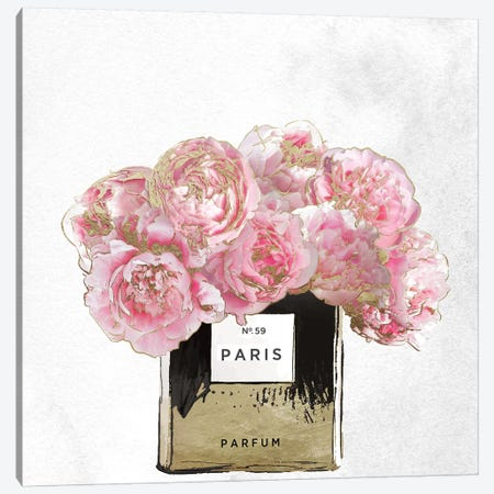 Pink Scented Canvas Print #CBY786} by Color Bakery Canvas Wall Art