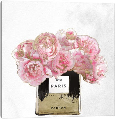 Pink Scented Canvas Art Print