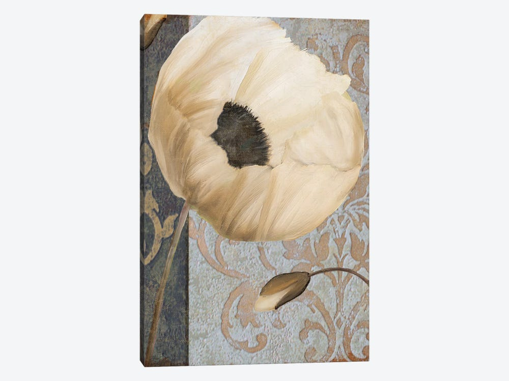 Poppy Brocade I by Color Bakery 1-piece Art Print