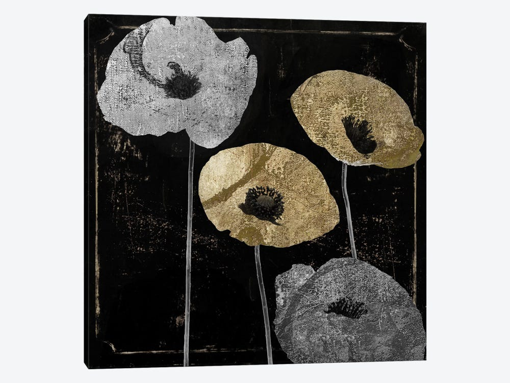 Poppyville I by Color Bakery 1-piece Canvas Print