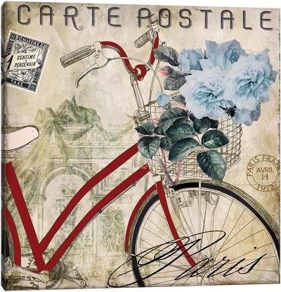 Postale Paris II Canvas Art Print