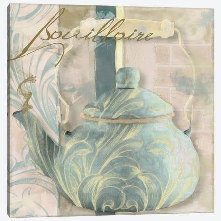 Pots Bleus I Canvas Print #CBY805} by Color Bakery Canvas Art Print