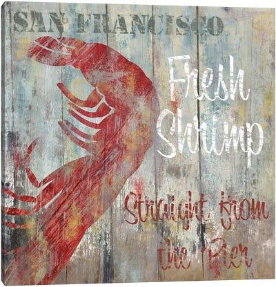 Resturant Seafood I Canvas Art Print