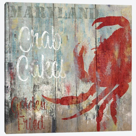 Resturant Seafood II Canvas Print #CBY821} by Color Bakery Canvas Art