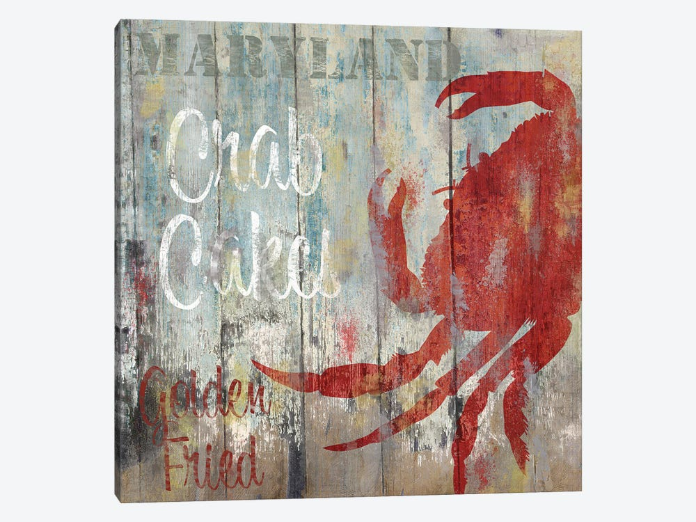 Resturant Seafood II by Color Bakery 1-piece Canvas Artwork