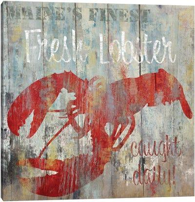 Resturant Seafood III Canvas Art Print
