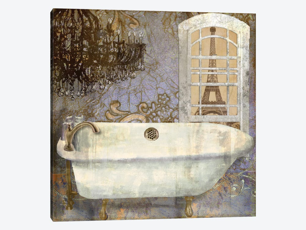 Salle de Bain I by Color Bakery 1-piece Canvas Artwork
