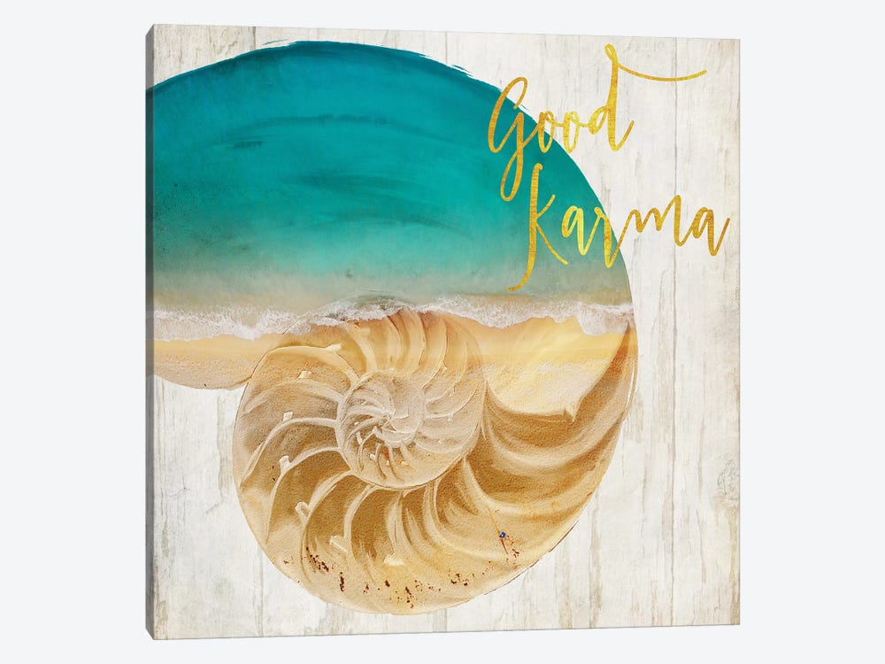 Sea In My Hand by Color Bakery 1-piece Canvas Artwork