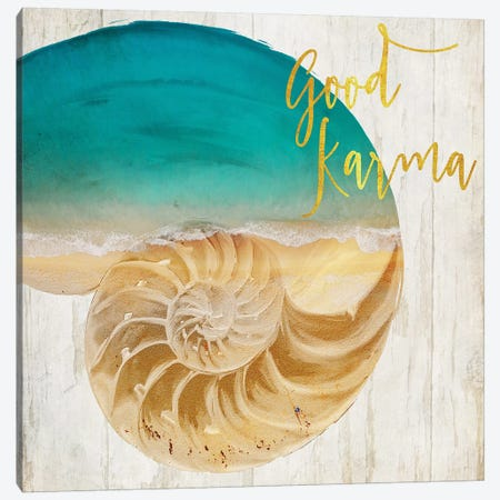 Sea In My Hand Canvas Print #CBY863} by Color Bakery Canvas Wall Art