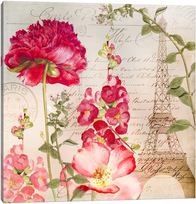 Always Paris II Canvas Art Print
