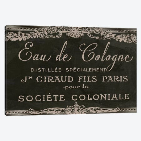 Signes Français VIII Canvas Print #CBY894} by Color Bakery Canvas Wall Art