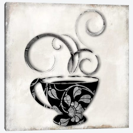 Silver Brewed I Canvas Print #CBY899} by Color Bakery Canvas Print