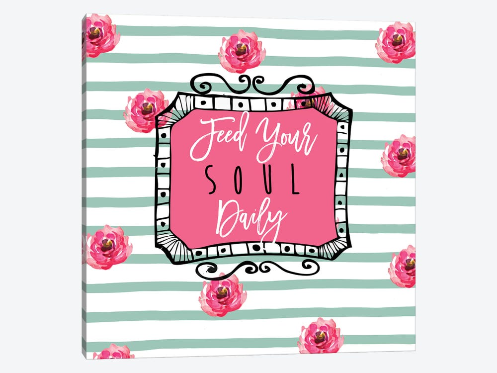 Soul Food I by Color Bakery 1-piece Canvas Print