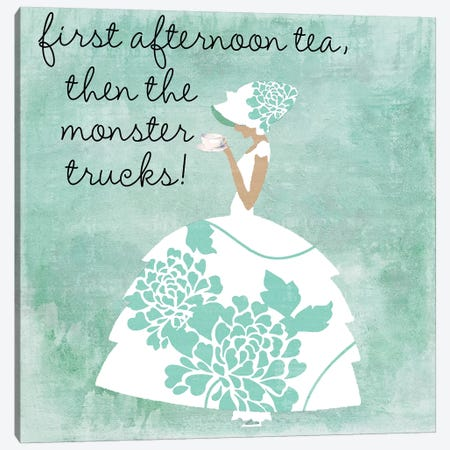 Southern Belles I Canvas Print #CBY920} by Color Bakery Canvas Print