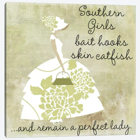 Southern Belles II Canvas Print #CBY921} by Color Bakery Canvas Art Print