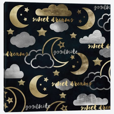 Sweet Dreams 3-Piece Canvas #CBY949} by Color Bakery Canvas Art Print