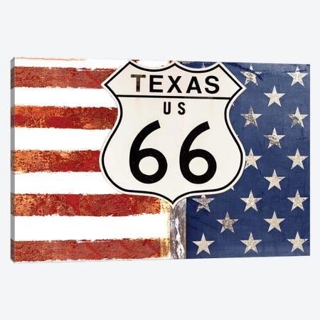 Texas 66 Canvas Print #CBY954} by Color Bakery Canvas Art Print